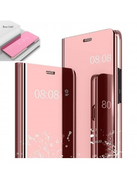 Etui Housse XIAOMI 9T Clear Miroir Transparent Rose