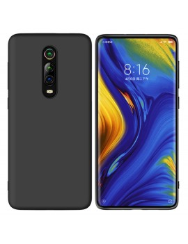 Coque de protection Silicone XIAOMI MI 9T finition Soft Touch Noir