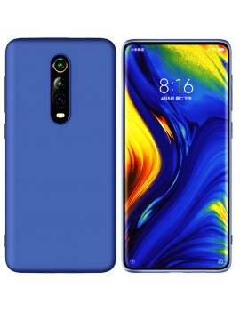 Coque de protection Silicone XIAOMI MI 9T PRO finition Soft Touch BLEU