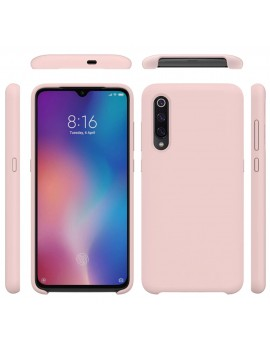 Coque de protection Silicone XIAOMI MI 9 SE Soft Touch Rigide Rose