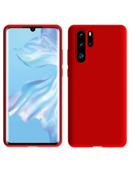 Coque de protection Silicone HUAWEI P30 PRO Soft Touch Rigide ROUGE