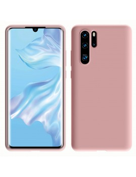 Coque de protection Silicone HUAWEI P30 PRO Soft Touch Rigide Rose