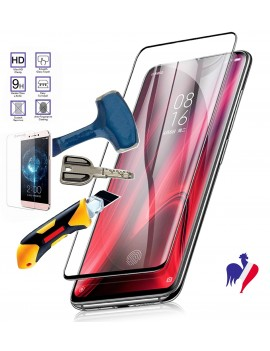 Vitre de Protection Verre Trempé SAMSUNG GALAXY S20+ Anti Casse incruvé Fullcover