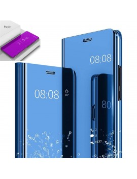 Etui Housse SAMSUNG GALAXY NOTE 10 Clear Miroir Transparent Violet