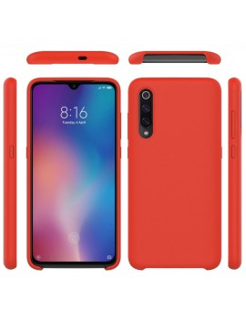 Coque de protection Silicone XIAOMI MI 9 SE Soft Touch Rigide ROUGE