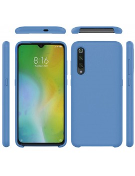 Coque de protection Silicone XIAOMI MI 9 SE Soft Touch Rigide BLEU