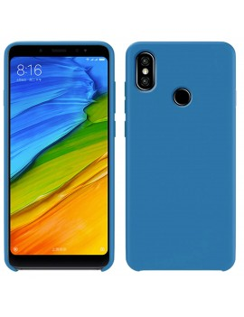 Coque de protection Silicone XIAOMI REDMI NOTE 7 Soft Touch Rigide BLEU