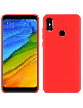 Coque de protection Silicone XIAOMI REDMI NOTE 7 Soft Touch Rigide ROUGE