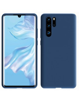 Coque de protection Silicone HUAWEI P30 PRO Soft Touch Rigide BLEU